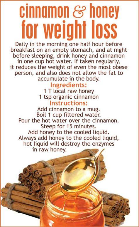 weight loss using honey benefits of cinnamon and honey