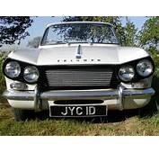 Convertible Triumph Vitesse 6 1600cc White 1966 Mk SOLD On