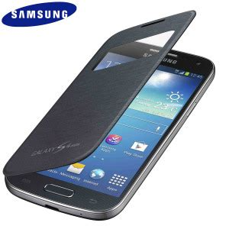 Cover Samsung Galaxy S4 Mini official samsung galaxy s4 mini s view premium cover