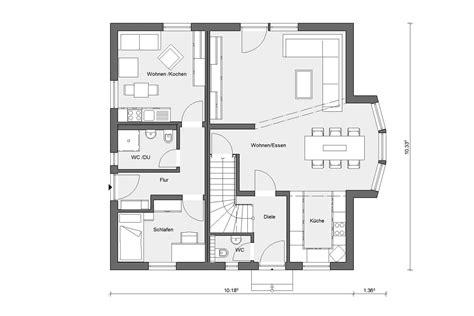 Dekoideen 187 Sch 246 Ner Wohnen Haus Grundriss Schw 246 Rer Sch 246 Ner