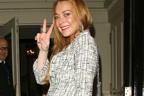 Lindsay Lohan Encouraged To Run For Government by Lindsay Lohan Wants To Run For President In 2020 Real