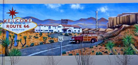 Wall Murals Route 66 Route 66 Turns 90 Barstow Route 66