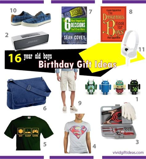 good birthday gifts for 16 year old boys boy gifts