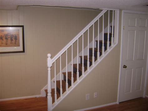 Removable Banister by Basement Stair Railing Ideas Home Ideas Design For The