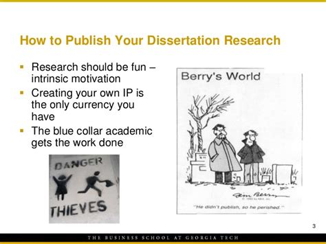 publishing your dissertation how to publish your dissertation