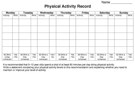Physical Health Worksheets by Arc Worksheet 1