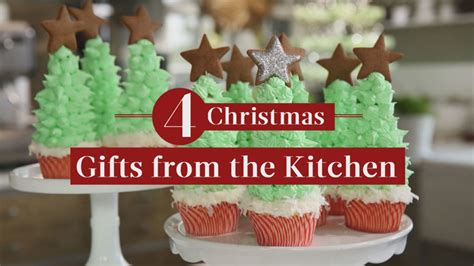video 4 homemade christmas gifts from the kitchen