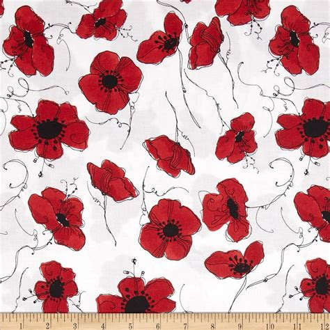 Country Home Decor Pinterest by Loralie Lady In Red Poppies White Discount Designer