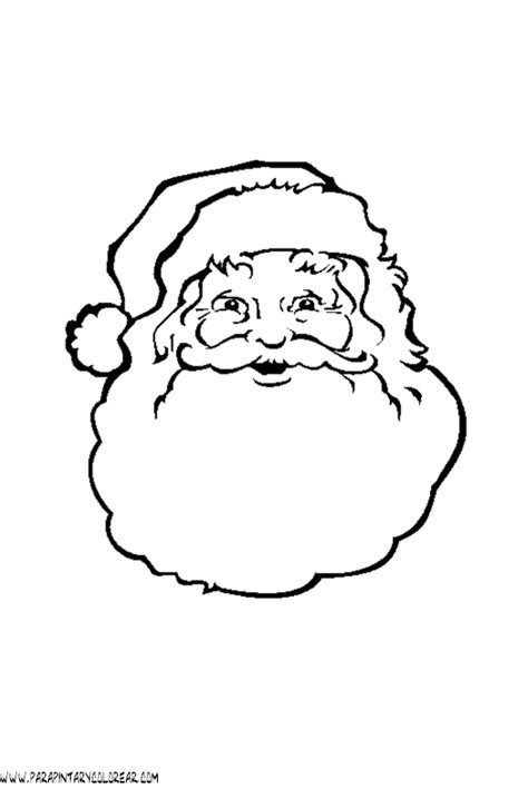 dibujo de cara de pap 225 noel para colorear dibujos net dibujos papa noel para colorear 006