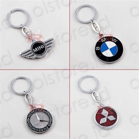 jual gantungan kunci logo mobil bmw mercy mini cooper mitsubishi
