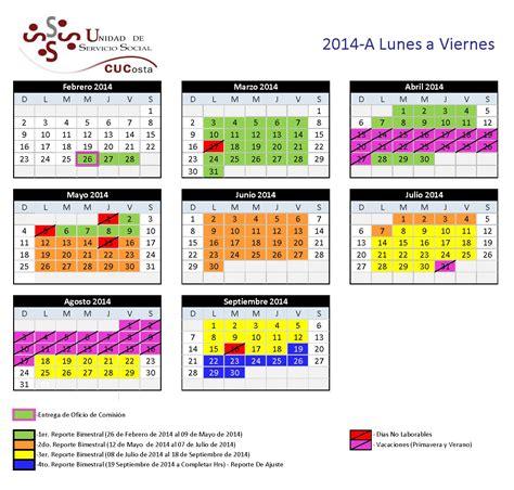 Calendario Viernes Calendario Centro Universitario De La Costa