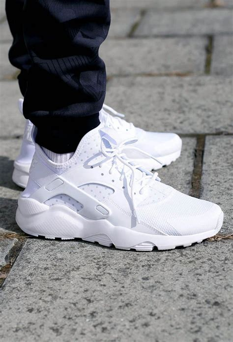 nike air huarache ultra white on sneaker heaven
