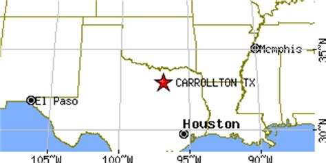 texas latitude and longitude map carrollton texas tx population data races housing economy