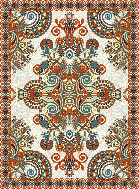 persian pattern vector persian rug pattern vector colorful stock photography