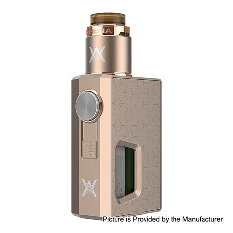 Athena Squonk Mod Only By Geekvape Authentic authentic geekvape athena gold 6 5ml squonk mech box mod bf rda kit