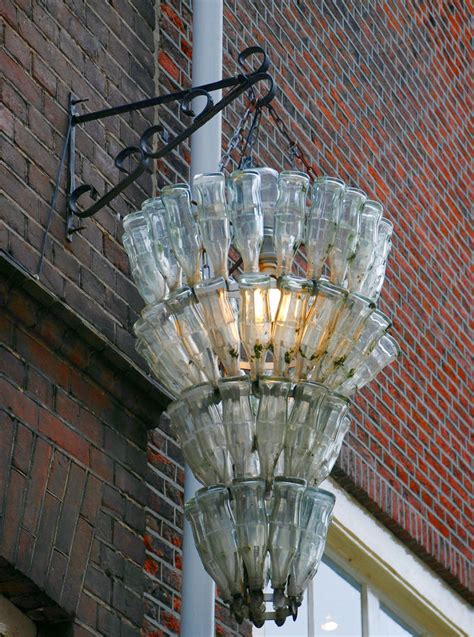 Glass Bottle Chandelier 60 Creative Diy Glass Bottle Ideas For Your Outdoor Living Space