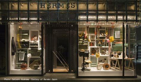 Burberry Home Decor by Maison Hermes Window Display By Paramodel Spoon Amp Tamago