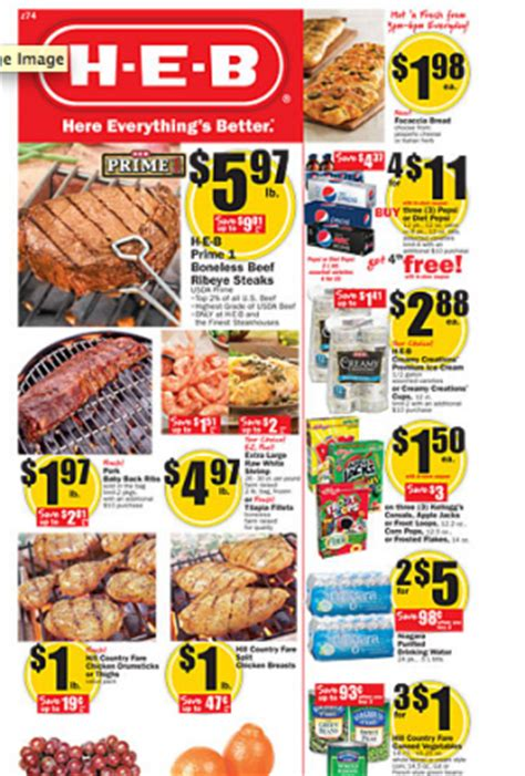 heb specials heb ad updates mylitter one deal at a time