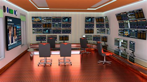 Trading Room by Design A High Tech Stock Trading Room Freelancer