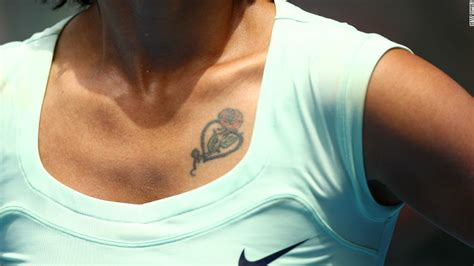 nike tattoo on chest the life of brian baker s french open fairytale cnn com