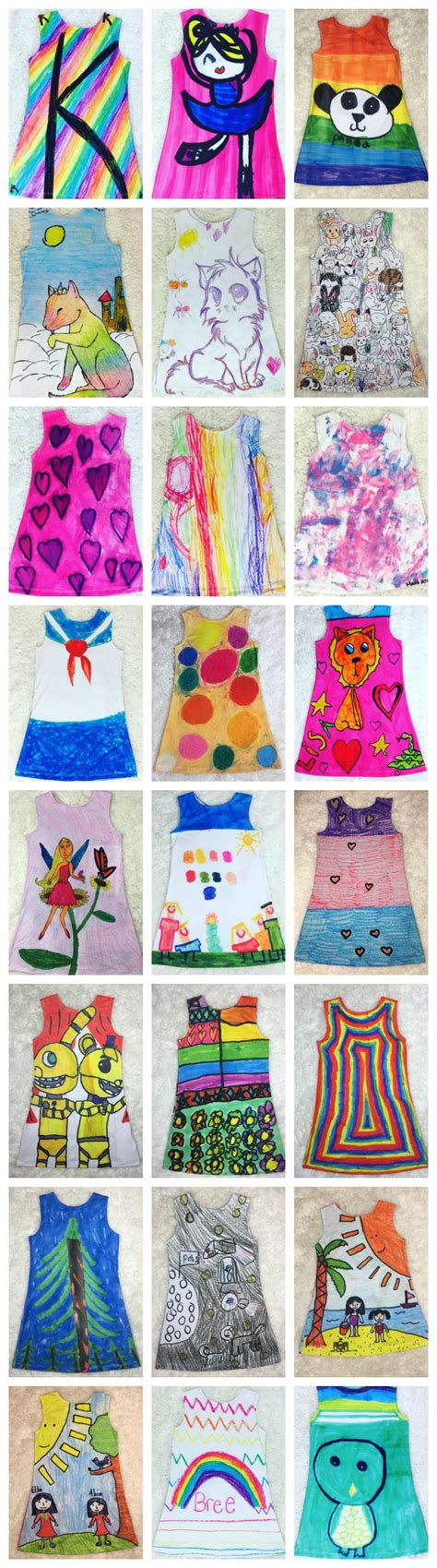 design clothes online for fun turn kids drawings into clothes be a fun mum
