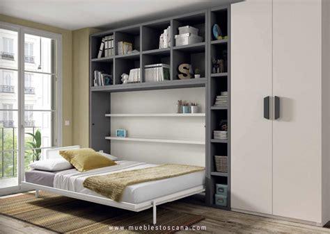 cama abatible dormitorios juveniles con camas abatibles para aprovechar