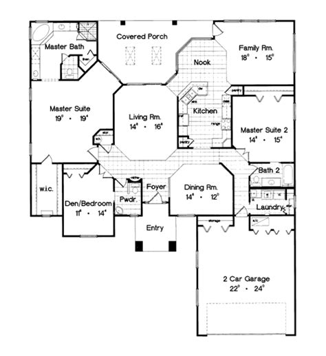 kenwood 4050 3 bedrooms and 2 baths the house designers