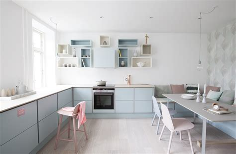 nordic kitchen pastel nordic kitchen commercial coo lab