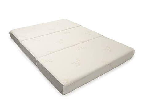 Milliard Mattress by Milliard 6 Inch Memory Foam Tri Fold Mattress With Ultra