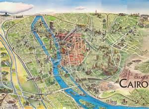 map of cairo cairo