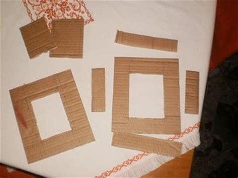 come costruire una cornice in legno come creare una cornice dal cartone tutorial paperblog