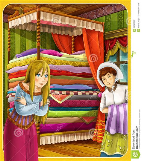 princess and the pea the princesses castles knights