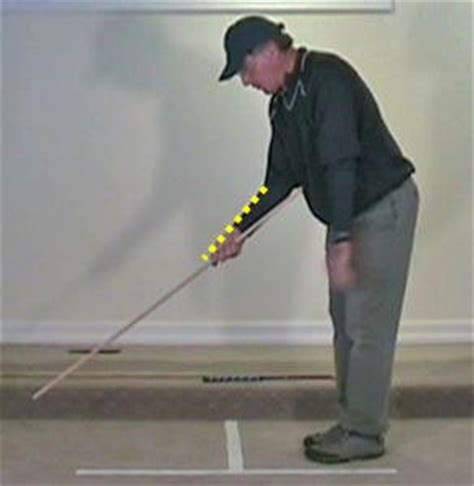 right hand in golf swing how to move the arms