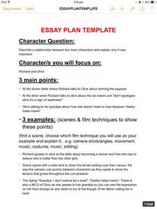 Essay Planning Template by Essay Plan Template Jasmingoss