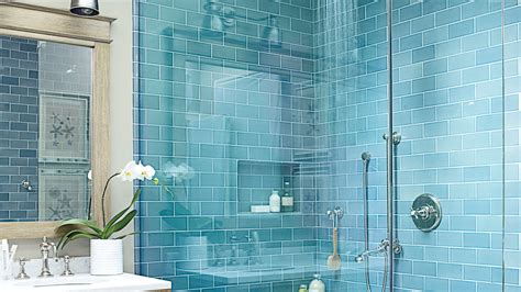 Decor Tiles And Floors by Beach House Bathrooms Coastal Living