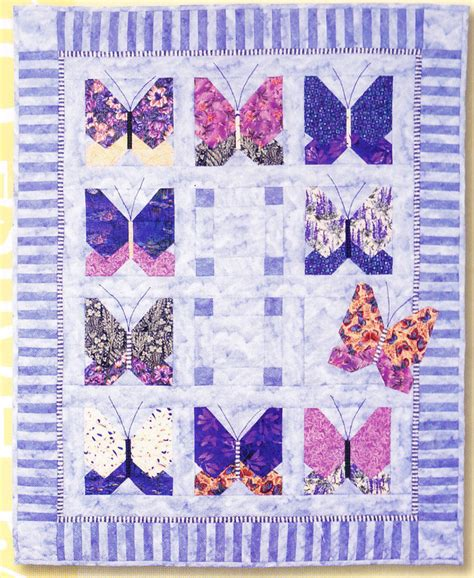 Butterfly Pattern In Java | butterfly s break fun pieced applique quilt pattern
