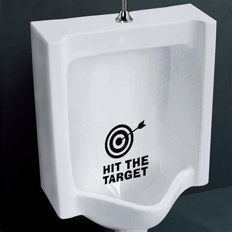 Bathroom Wall Decor Target by Honana Bc 577 Hit The Target Toilet Wall Sticker Bathoom