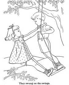 swing coloring az coloring pages