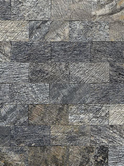 quartzite slate subway backsplash tile