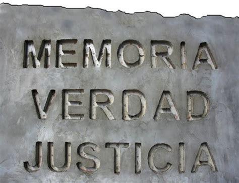 imagenes de justicia y verdad a los j 243 venes memoria verdad y justicia