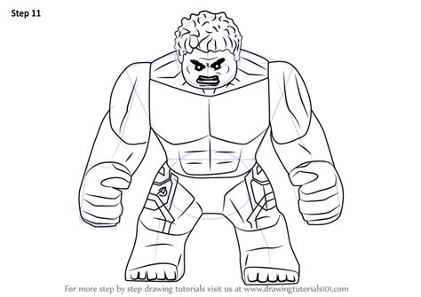 coloring pages of lego hulk learn how to draw lego the hulk lego step by step