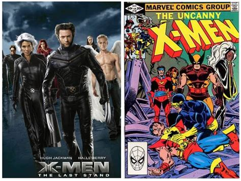 film with cartoon books comic book movies vs comics