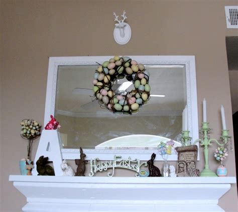 20 easter fireplace mantel decorations godfather style