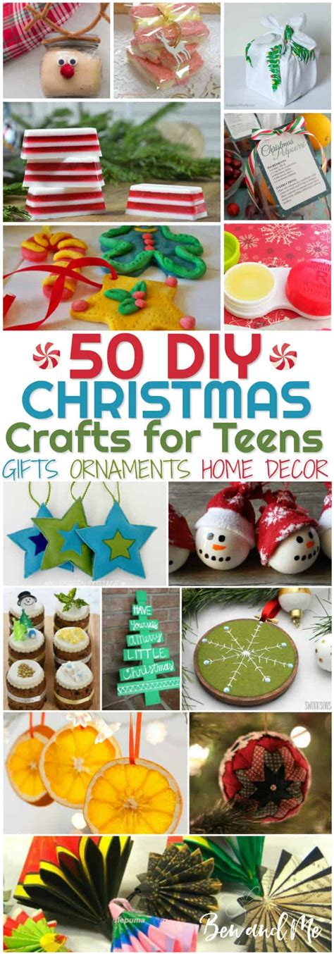 christmas craft ideas for teens diy crafts for ben and me