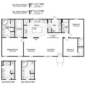 Palm Harbor Mobile Home Floor Plans The Harbor House Ftp360m6 Home Floor Plan Manufactured