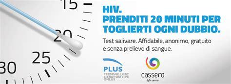 test hiv rapido test hiv a risposta rapida da plus plus onlus