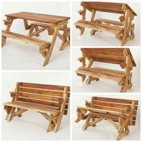 picnic table that folds into a bench 1000 ideas about folding picnic table on pinterest