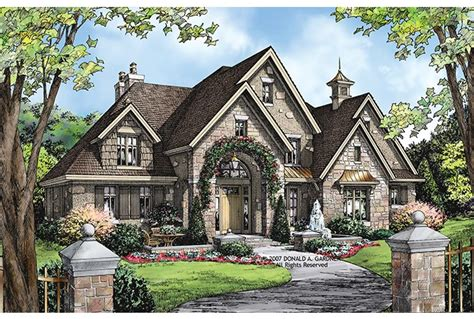 european style home plans eplans european house plan 3784 square feet and 4