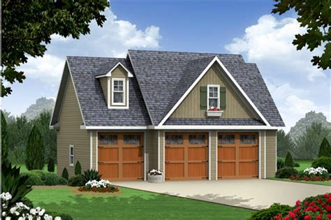 craftsman garage with apartment plan 141 1251 1 bedrm 3