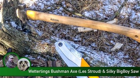 wetterlings les stroud wetterlings bushman axe les stroud silky bigboy saw